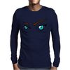 Eyes Look, Mens Long Sleeve T-Shirt