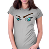 Eyes Look, Womens Fitted T-Shirt