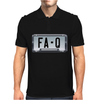 FA-Q LICENSE PLATE Mens Polo