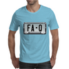 FA-Q LICENSE PLATE Mens T-Shirt