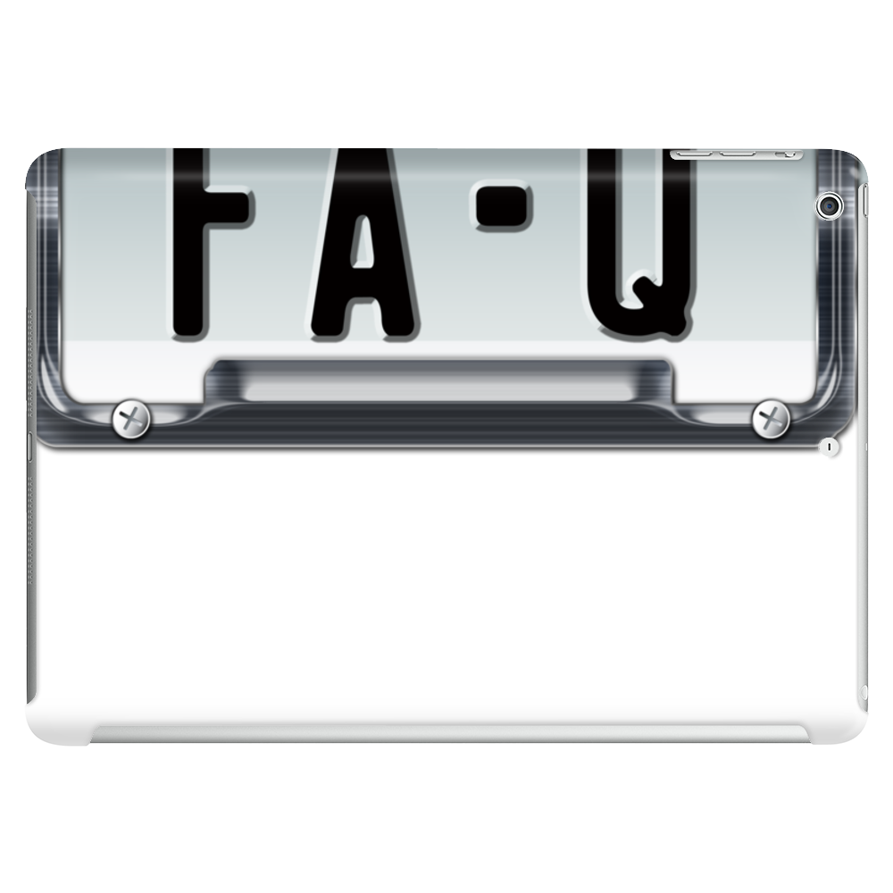 FA-Q LICENSE PLATE Tablet