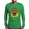 Face Biter banana Mens Long Sleeve T-Shirt