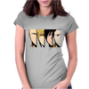 face friends Womens Fitted T-Shirt