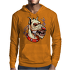 Face Mad Angry Dog Mens Hoodie