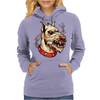 Face Mad Angry Dog Womens Hoodie