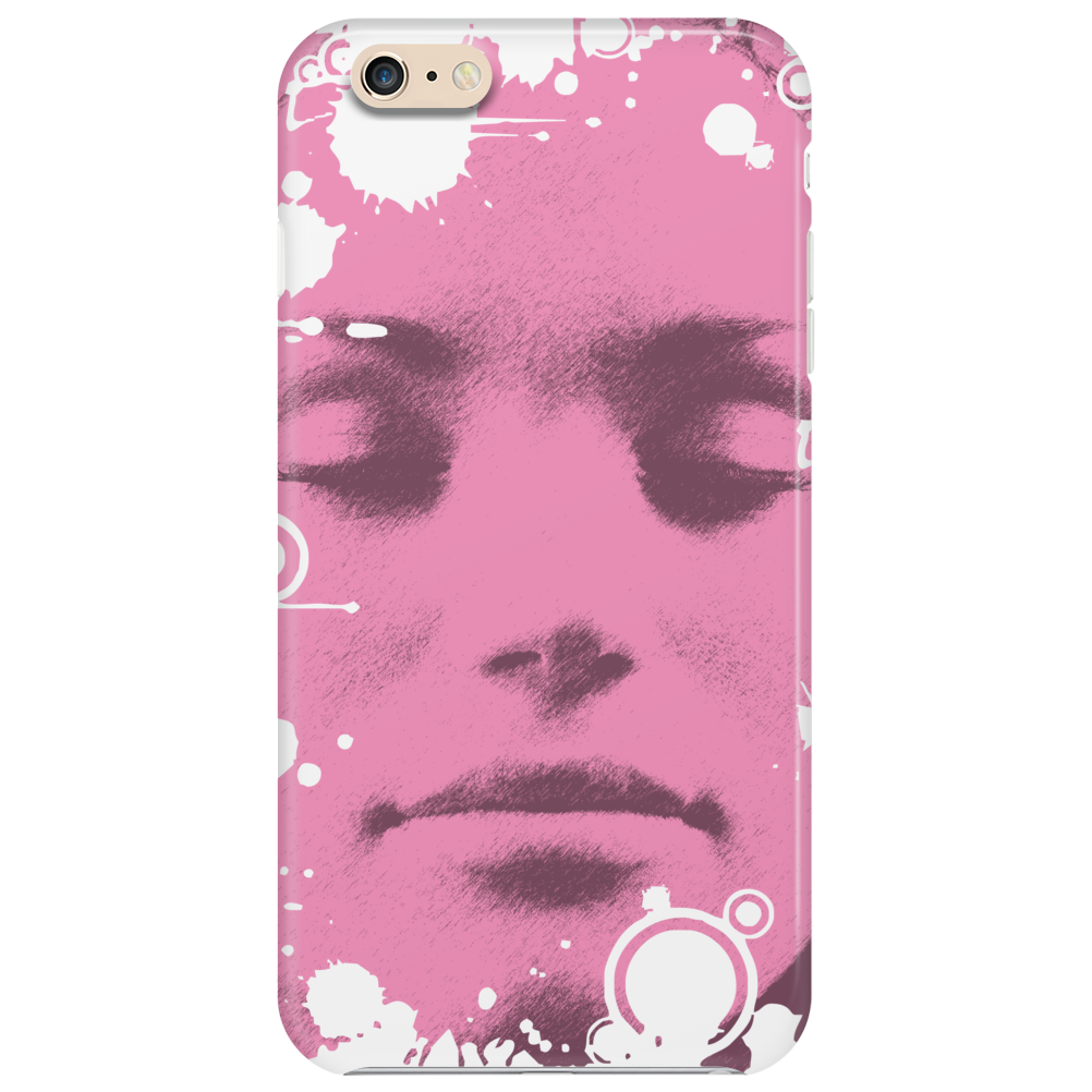 Face Pink Phone Case