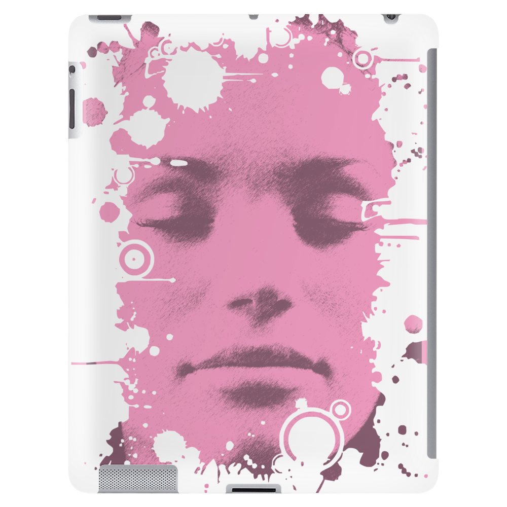 Face Pink Tablet (vertical)