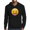 Face With Stuck-Out Tongue emoji Mens Hoodie