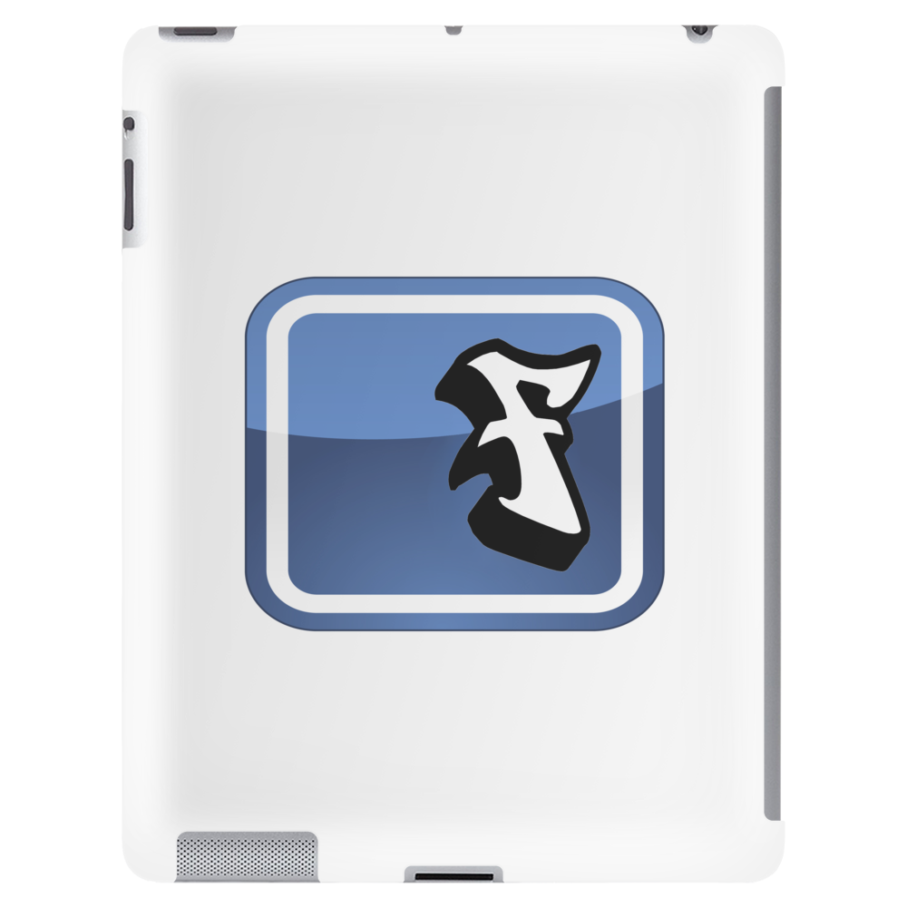 Facebook Logo (graffiti style) Tablet (vertical)