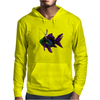 Faerie Fishing on a Fish Mens Hoodie