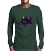 Faerie Fishing on a Fish Mens Long Sleeve T-Shirt
