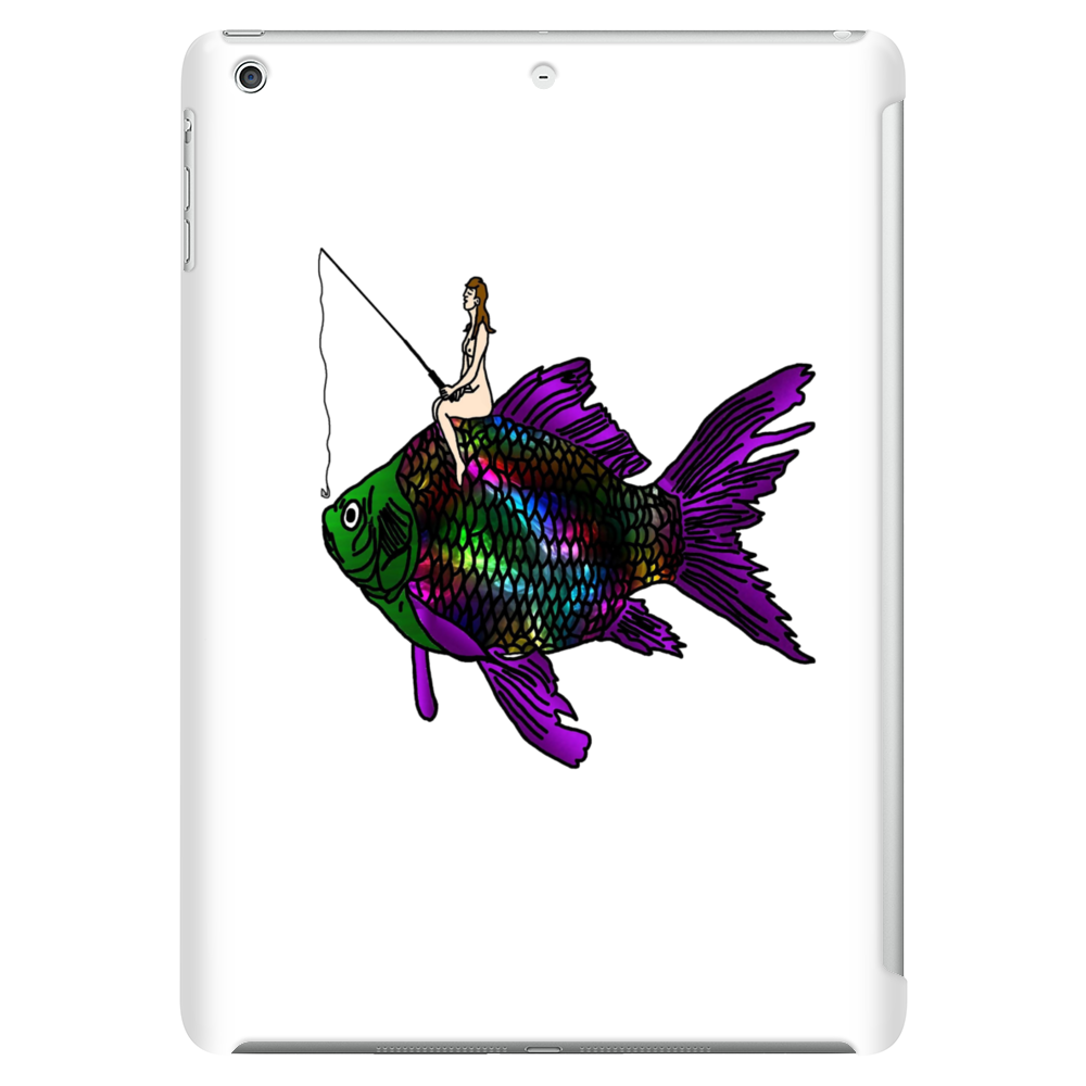 Faerie Fishing on a Fish Tablet