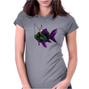 Faerie Fishing on a Fish Womens Fitted T-Shirt