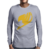 Fairytail Fairy Tail Tale Lucy NatsU Mens Long Sleeve T-Shirt