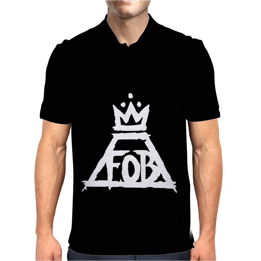 Fall Out Boy 2 Mens Polo