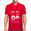 Fall Out Boy Silhouette Faces Mens Polo