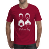Fall Out Boy Silhouette Faces Mens T-Shirt