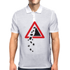 Falling Rocks Mens Polo