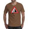 Falling Rocks Mens T-Shirt
