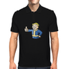 Fallout Character Mens Polo