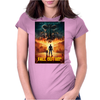 Fallout Four  poster Womens Fitted T-Shirt