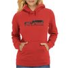 Fallout Laser Rifle Womens Hoodie