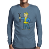 Fallout Vault Boy Mechanic Mens Long Sleeve T-Shirt