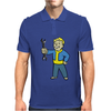 Fallout Vault Boy Mechanic Mens Polo