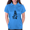 Fancy Flower Womens Polo