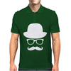 Fancy Moustache Glasses Top Hat Hipster Mustache Hat Wayfare Mens Polo