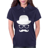Fancy Moustache Glasses Top Hat Hipster Mustache Hat Wayfare Womens Polo
