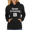 Farmer In Training Womens Hoodie