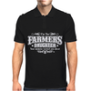 Farmer's Daughter Funny Mens Polo