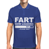 Fart Now Loading Mens Polo