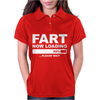 Fart Now Loading Womens Polo