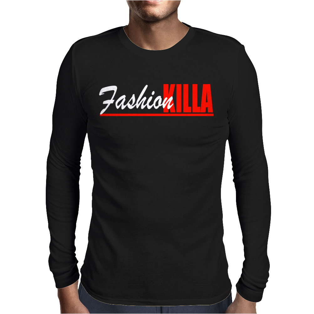 Fashion Killa Asap Rocky Mens Long Sleeve T-Shirt