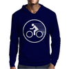 Fast Speed Bicycle Mens Hoodie