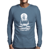Fasting Buddha Mens Long Sleeve T-Shirt