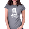 Fasting Buddha Womens Fitted T-Shirt