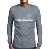 Fat Bikers Bounce Better Mens Long Sleeve T-Shirt