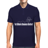 Fat Bikers Bounce Better Mens Polo