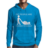 Fat People Are Harder To Kidnap FUNNY Mens Hoodie