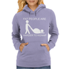 Fat People Are Harder To Kidnap FUNNY Womens Hoodie