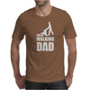 Fathers Day Gift - The Walking Dad Mens T-Shirt