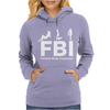 FBI Female Body Inspector Womens Hoodie