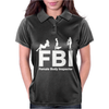 FBI Female Body Inspector Womens Polo