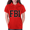 FBI Humor Womens Polo