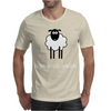 Fear Hate Anger Scared Sheep Mens T-Shirt