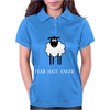 Fear Hate Anger Scared Sheep Womens Polo