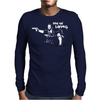 Fear the Living Mens Long Sleeve T-Shirt